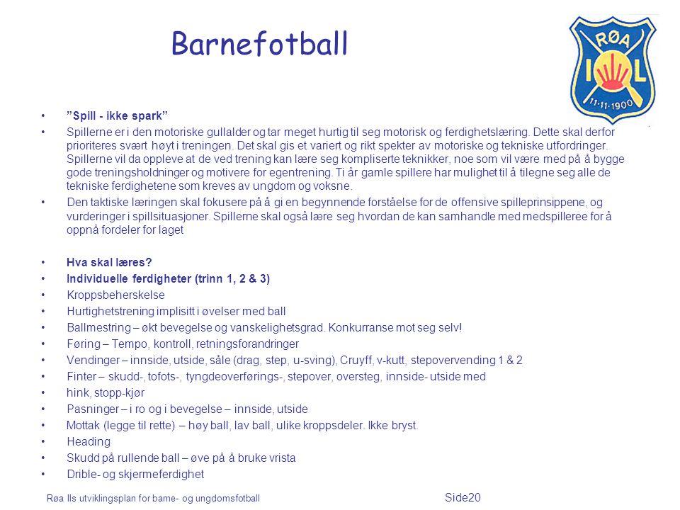Barnefotball Spill - ikke spark