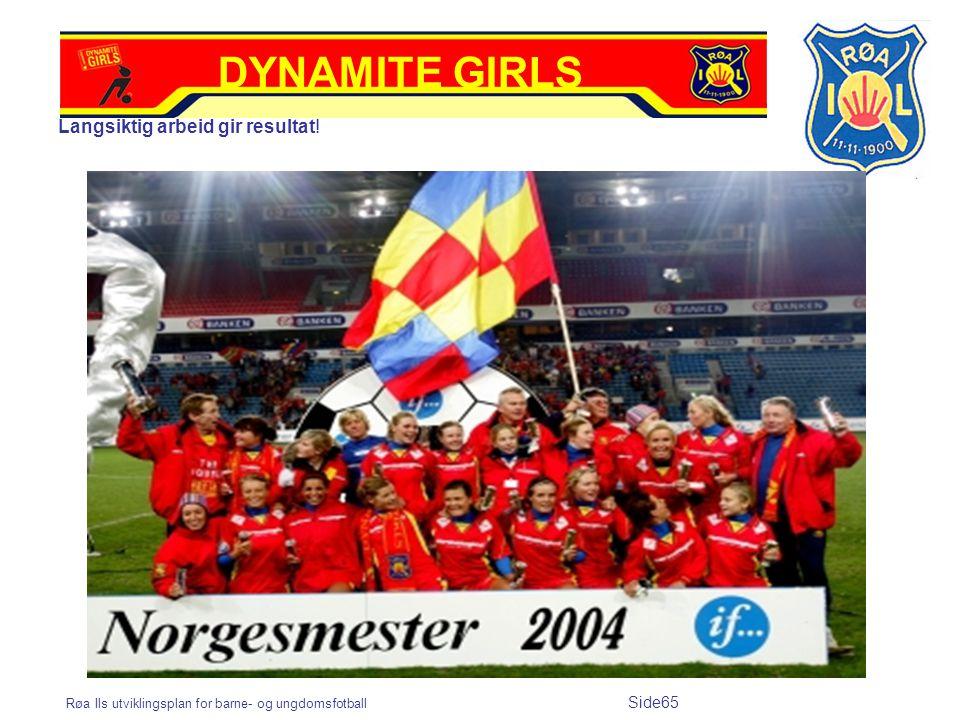 DYNAMITE GIRLS Langsiktig arbeid gir resultat!