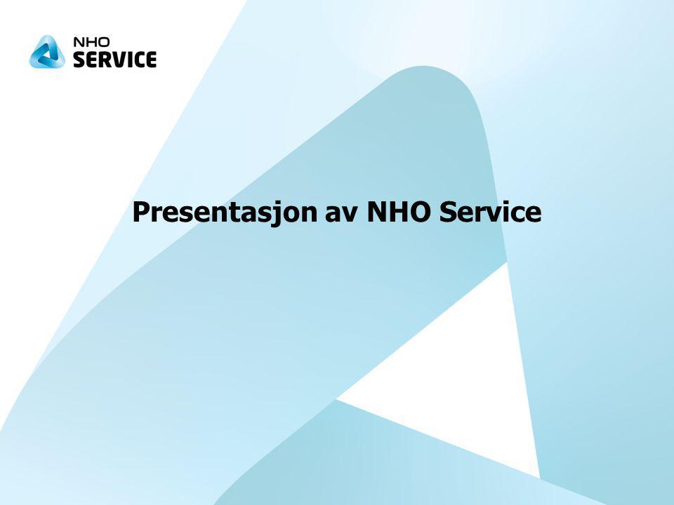 Presentasjon av NHO Service