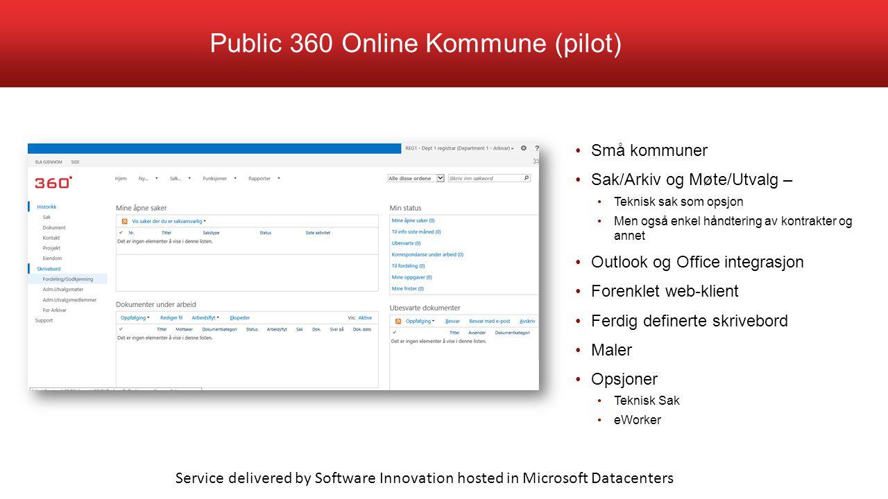 Public 360 Online Kommune (pilot)