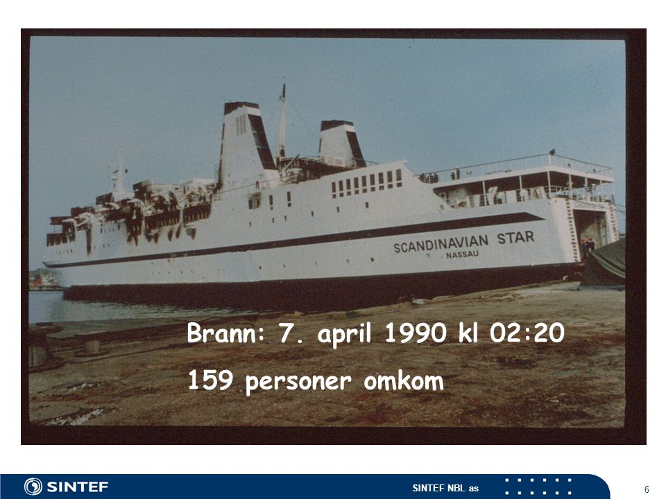 Brann: 7. april 1990 kl 02:20 159 personer omkom