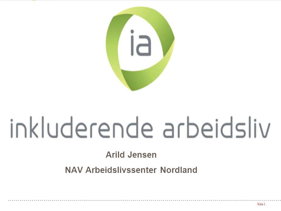 Arild Jensen NAV Arbeidslivssenter Nordland