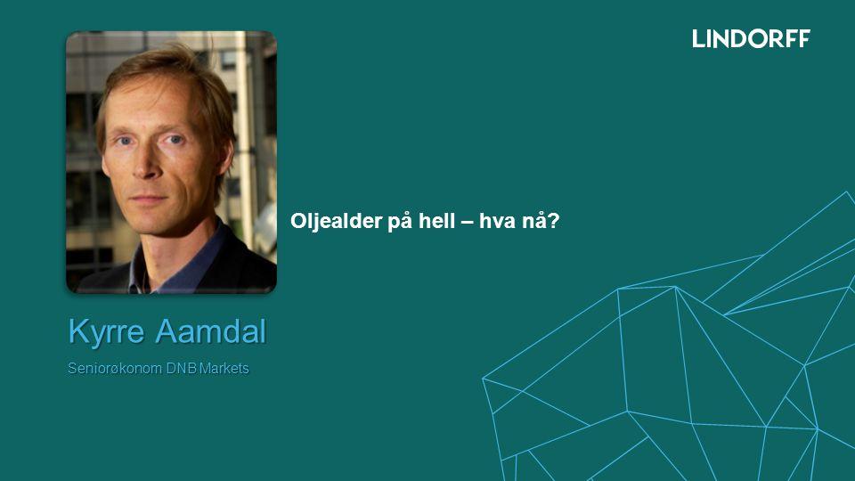 Kyrre Aamdal Seniorøkonom DNB Markets