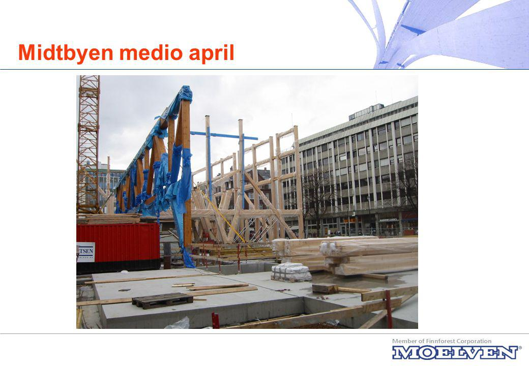 Midtbyen medio april