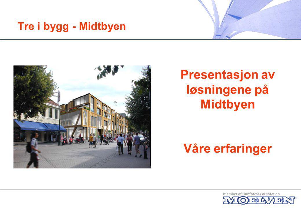 Presentasjon av løsningene på Midtbyen