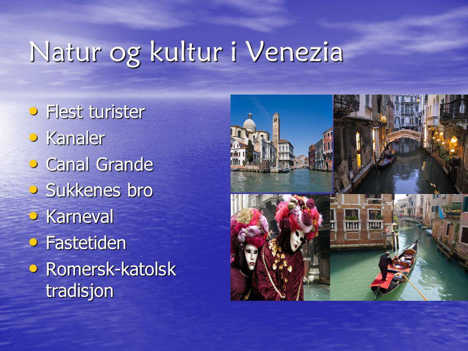 Natur og kultur i Venezia