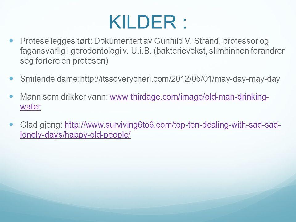 KILDER :