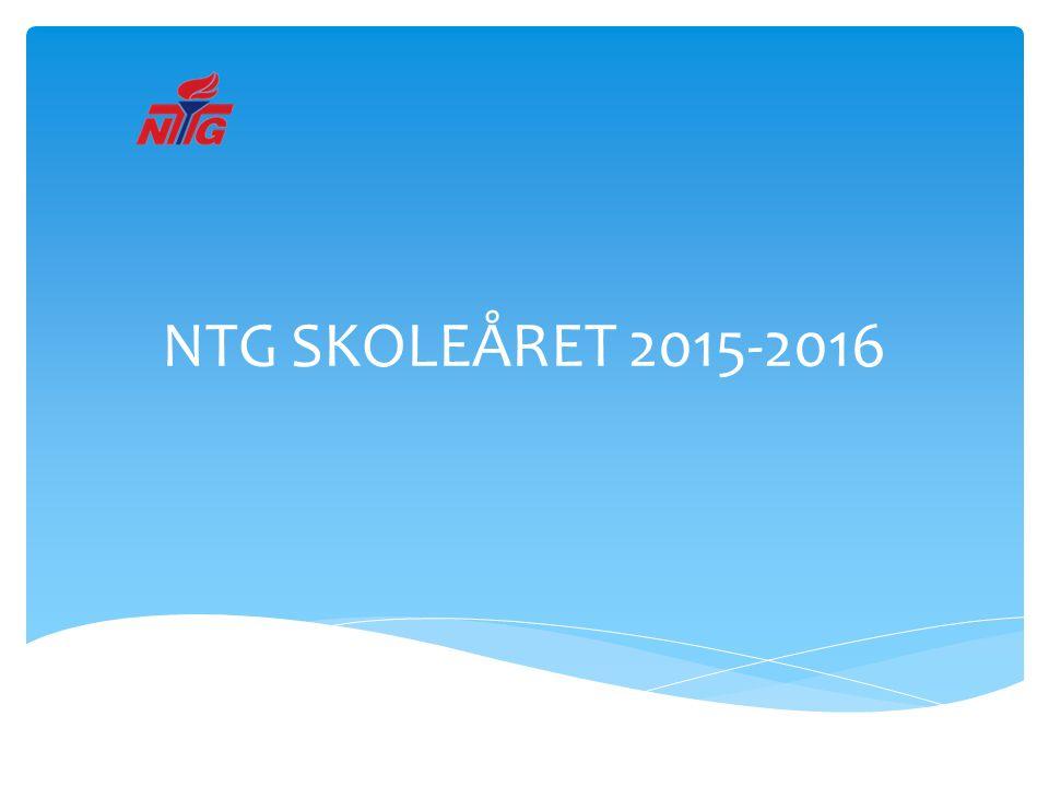 NTG SKOLEÅRET 2015-2016