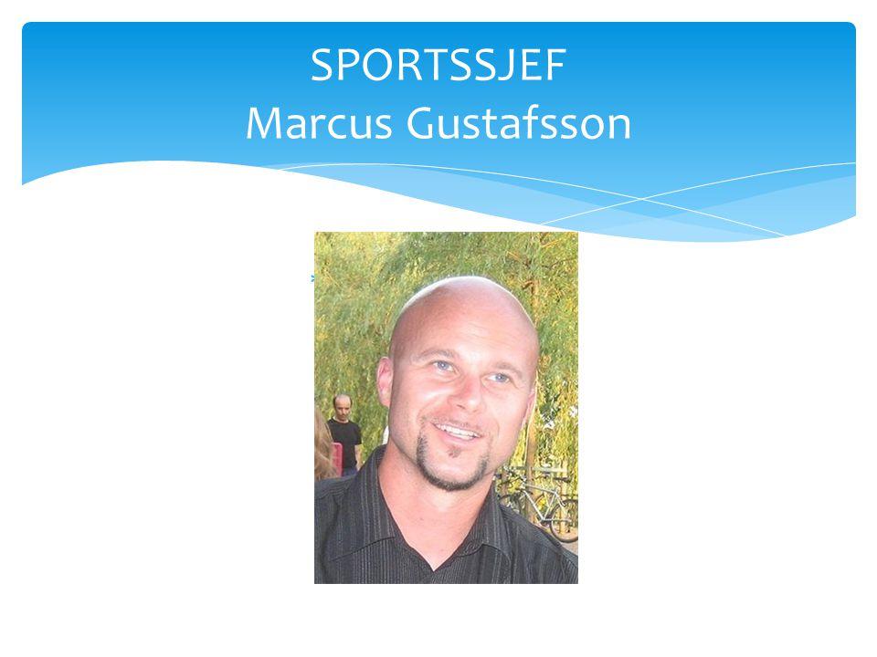 SPORTSSJEF Marcus Gustafsson