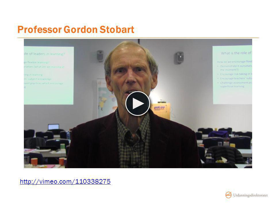 Professor Gordon Stobart