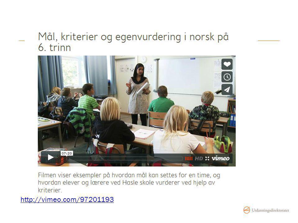 http://www.udir.no/Vurdering-for-laring/Filmer/Filmer-fra-barnetrinnet/Mal-kriterier-og-egenvurdering-i-norsk-pa-6-trinn/