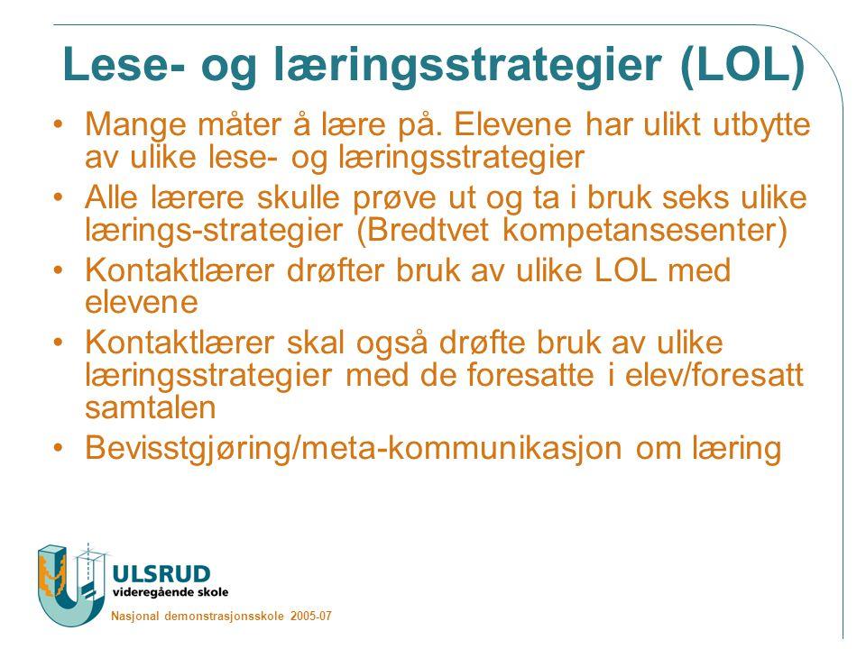 Lese- og læringsstrategier (LOL)
