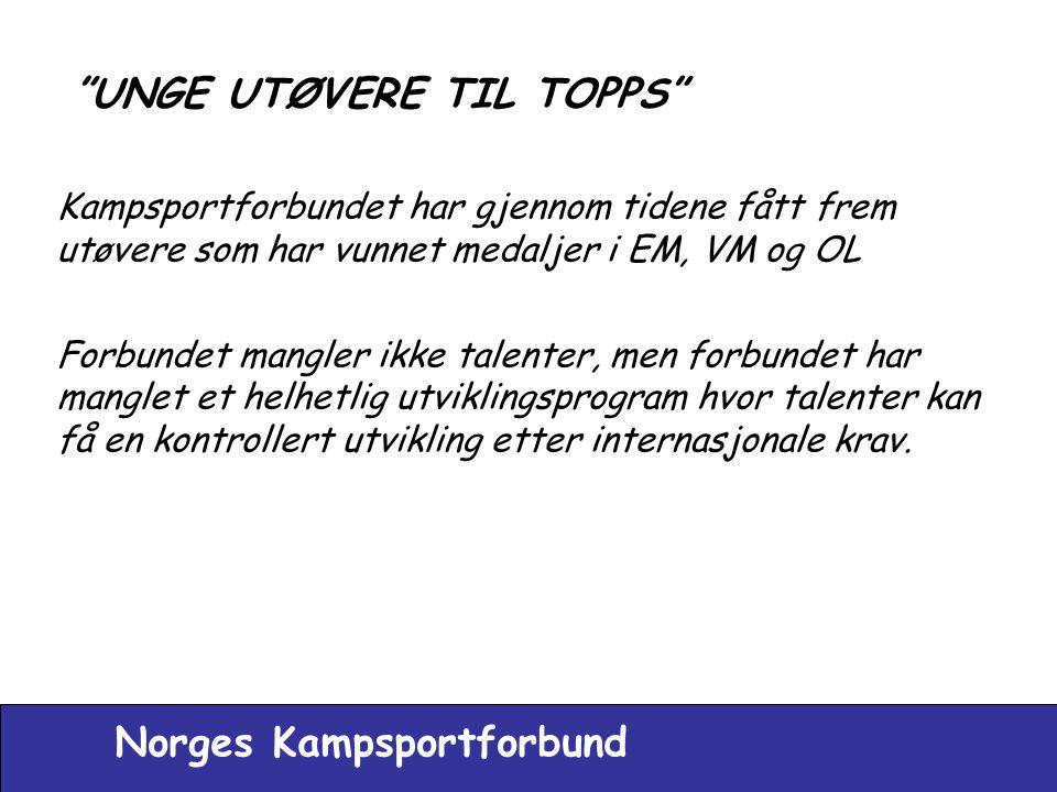 UNGE UTØVERE TIL TOPPS