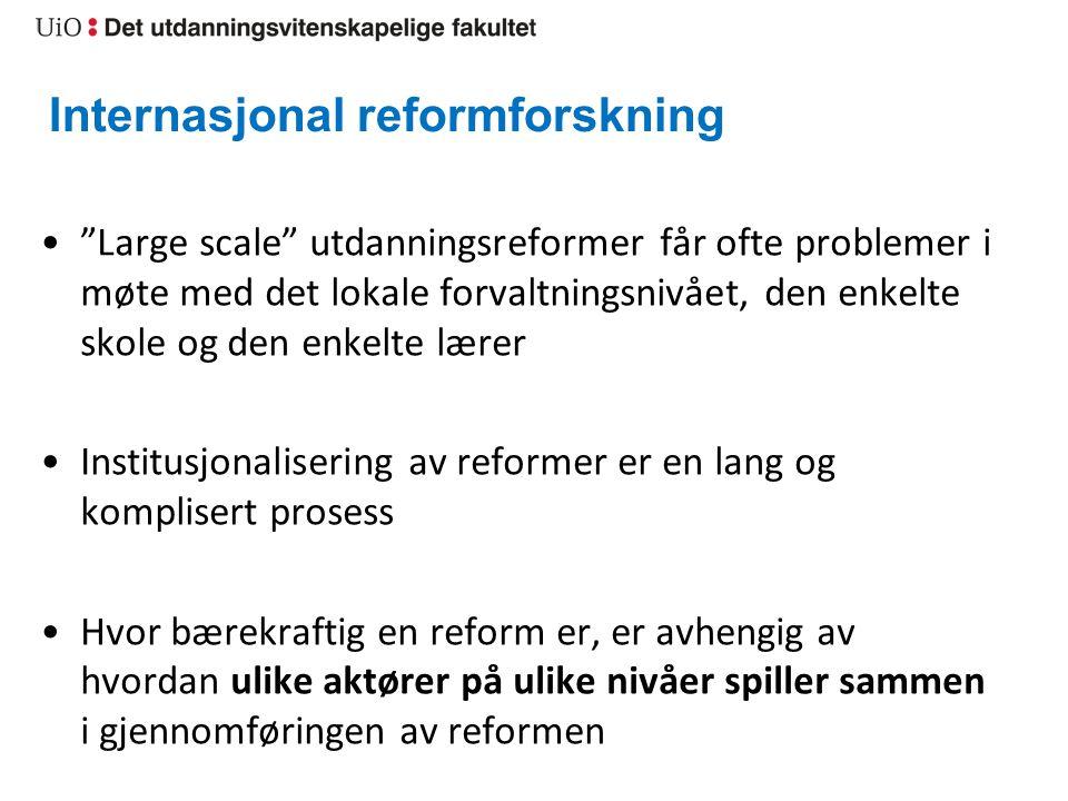 Internasjonal reformforskning