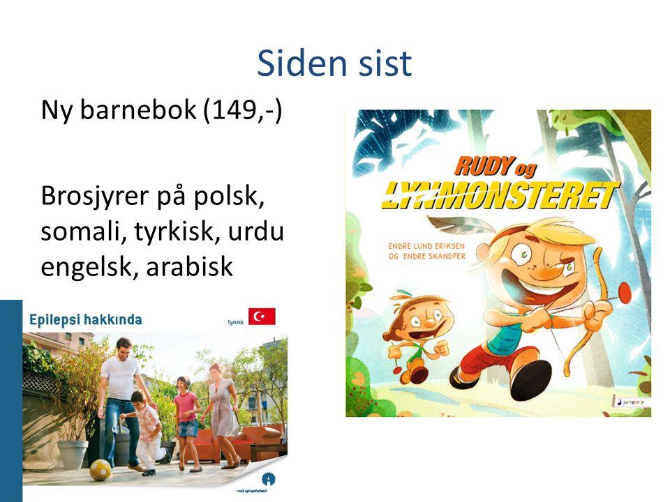 Siden sist Ny barnebok (149,-)