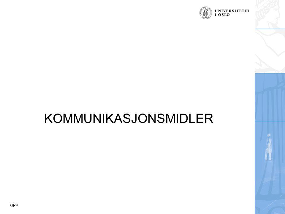 KOMMUNIKASJONSMIDLER