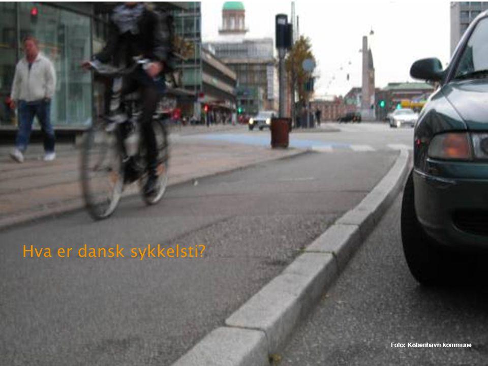 Kriteriene for sykkelfelt