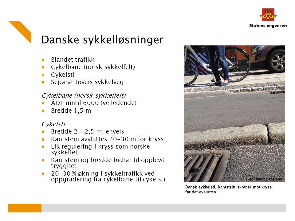 Danske sykkelløsninger