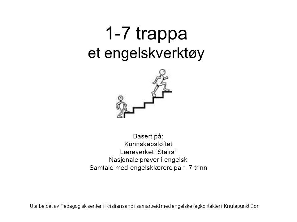 1-7 trappa et engelskverktøy