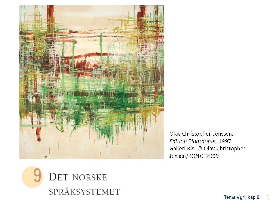 Olav Christopher Jenssen: Edition Biographie, 1997