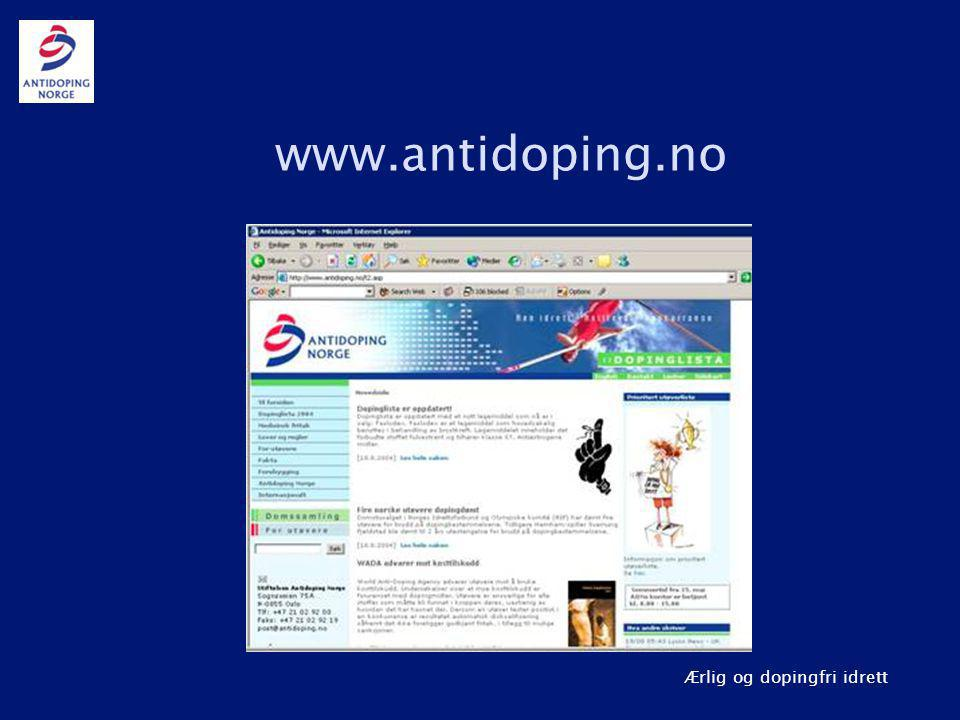 www.antidoping.no