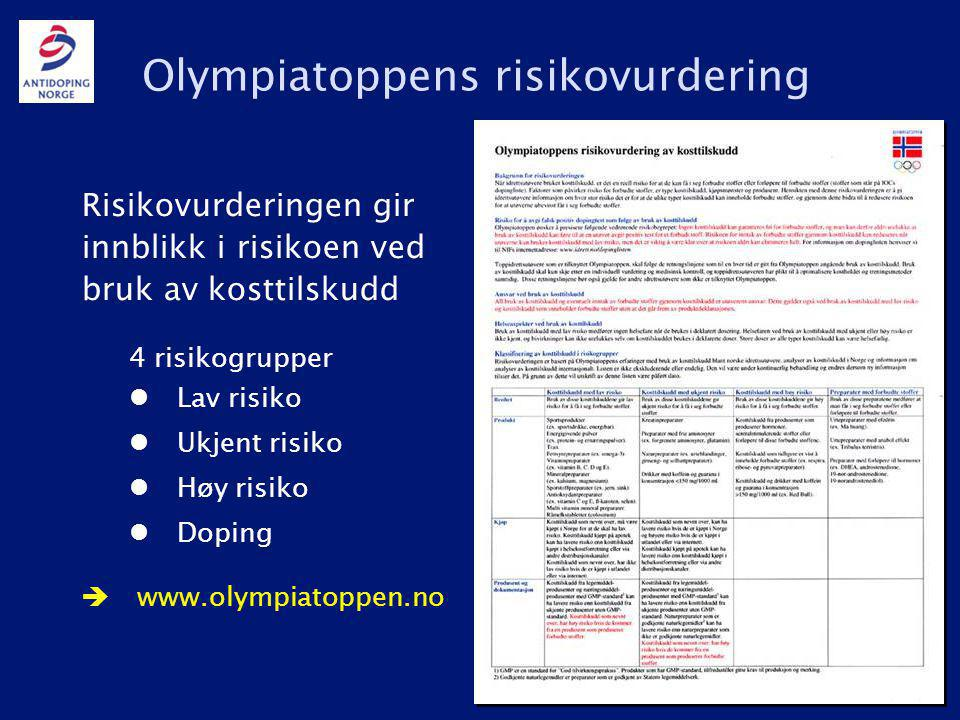 Olympiatoppens risikovurdering