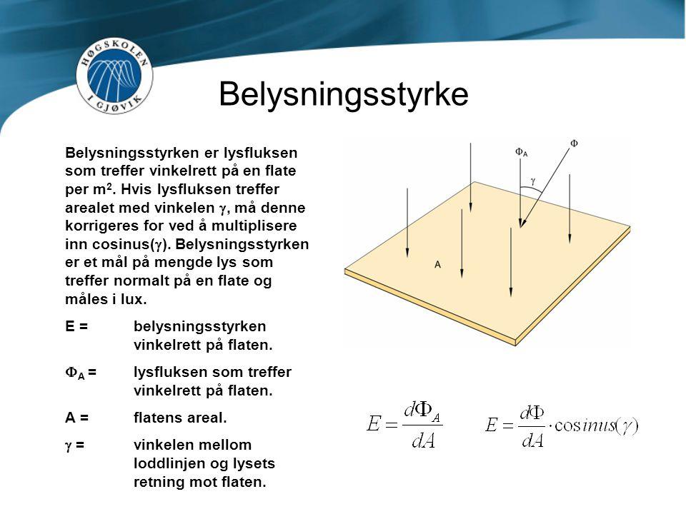 Belysningsstyrke
