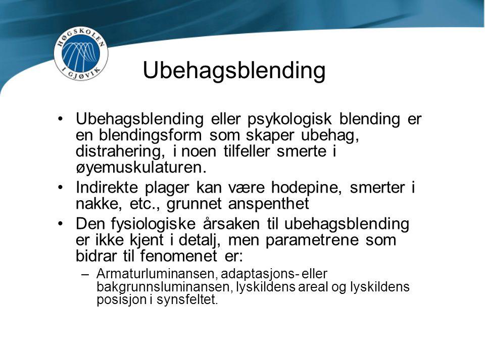 Ubehagsblending