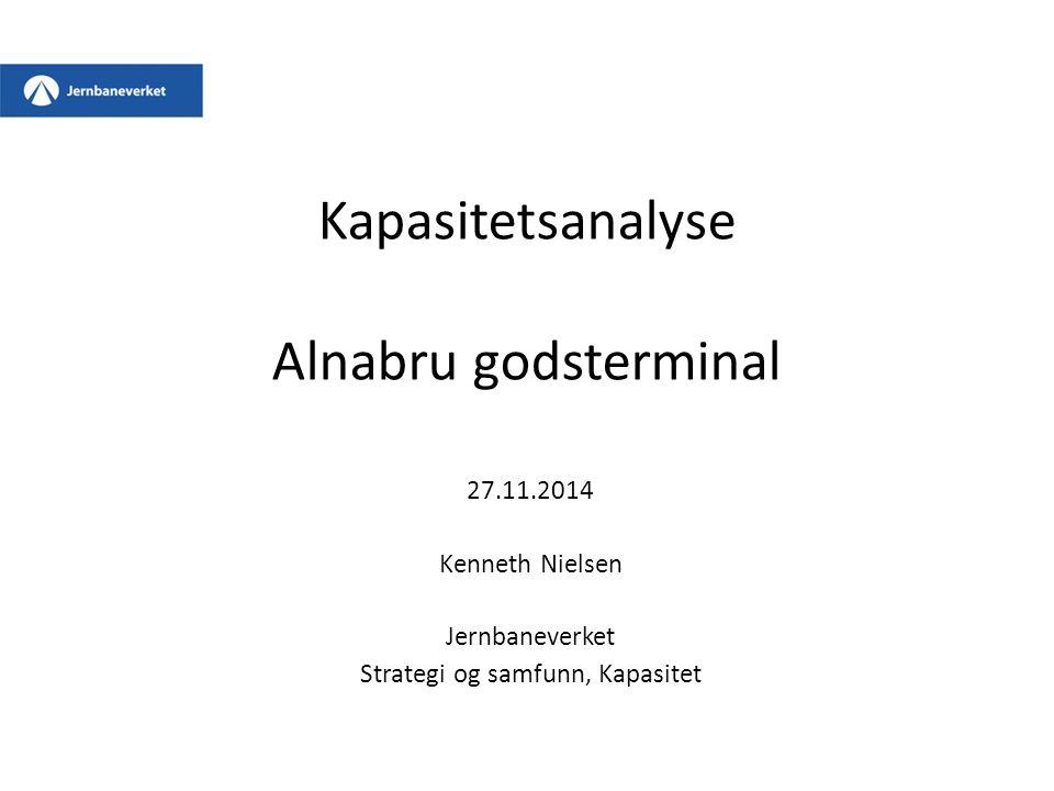 Kapasitetsanalyse Alnabru godsterminal