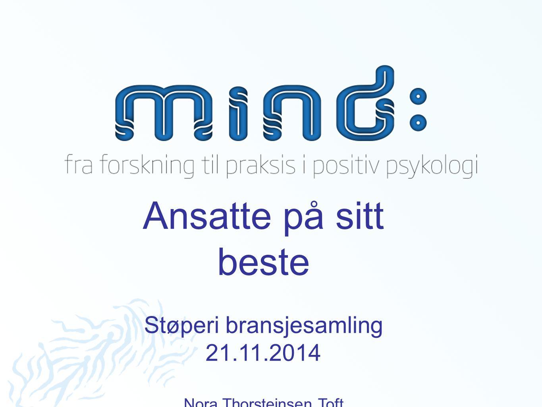 Ansatte på sitt beste Støperi bransjesamling 21.11.2014
