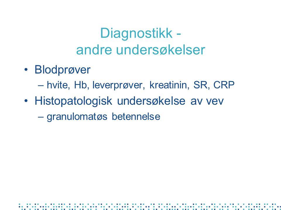 Diagnostikk - andre undersøkelser