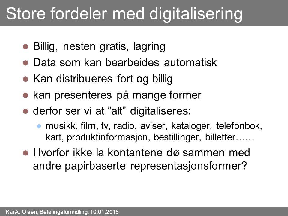 Store fordeler med digitalisering