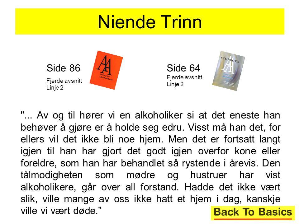 Niende Trinn Side 86 Side 64 Fjerde avsnitt Linje 2