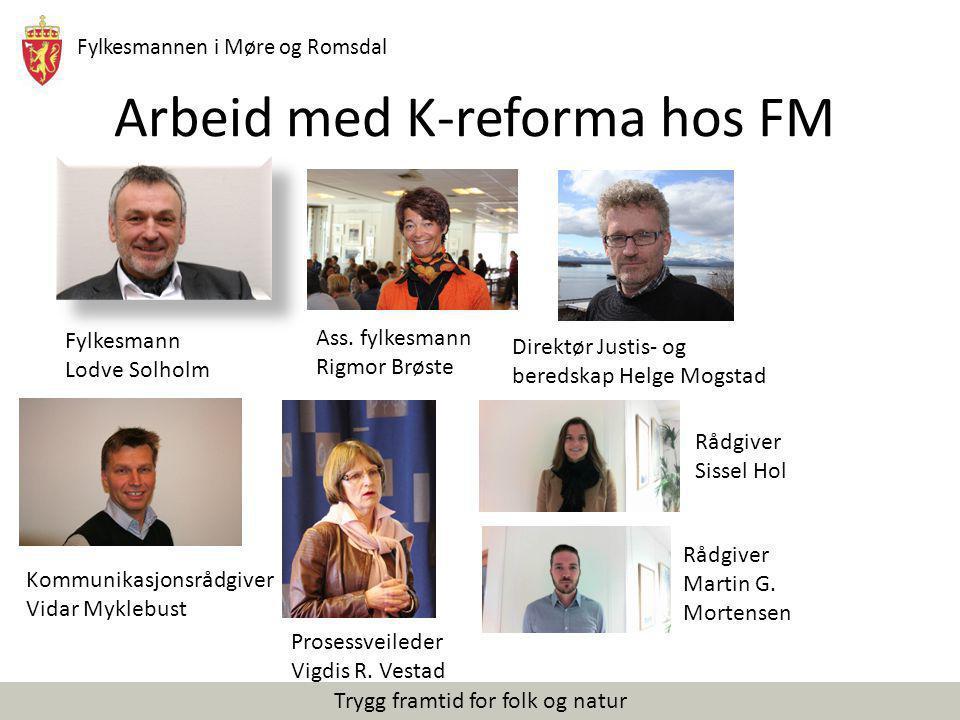 Arbeid med K-reforma hos FM