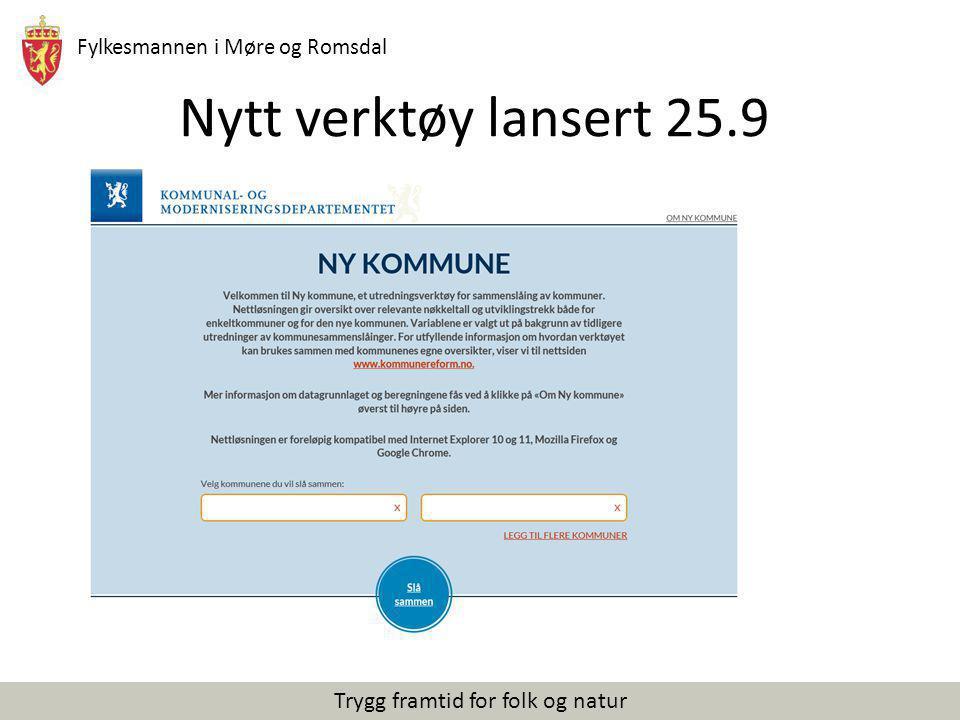 Nytt verktøy lansert 25.9 Til intern info: Her kan man velge å vise i praksis hvordan dette verktøyet.