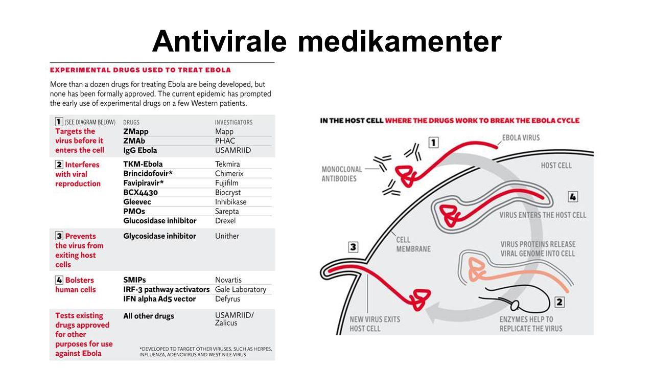 Antivirale medikamenter