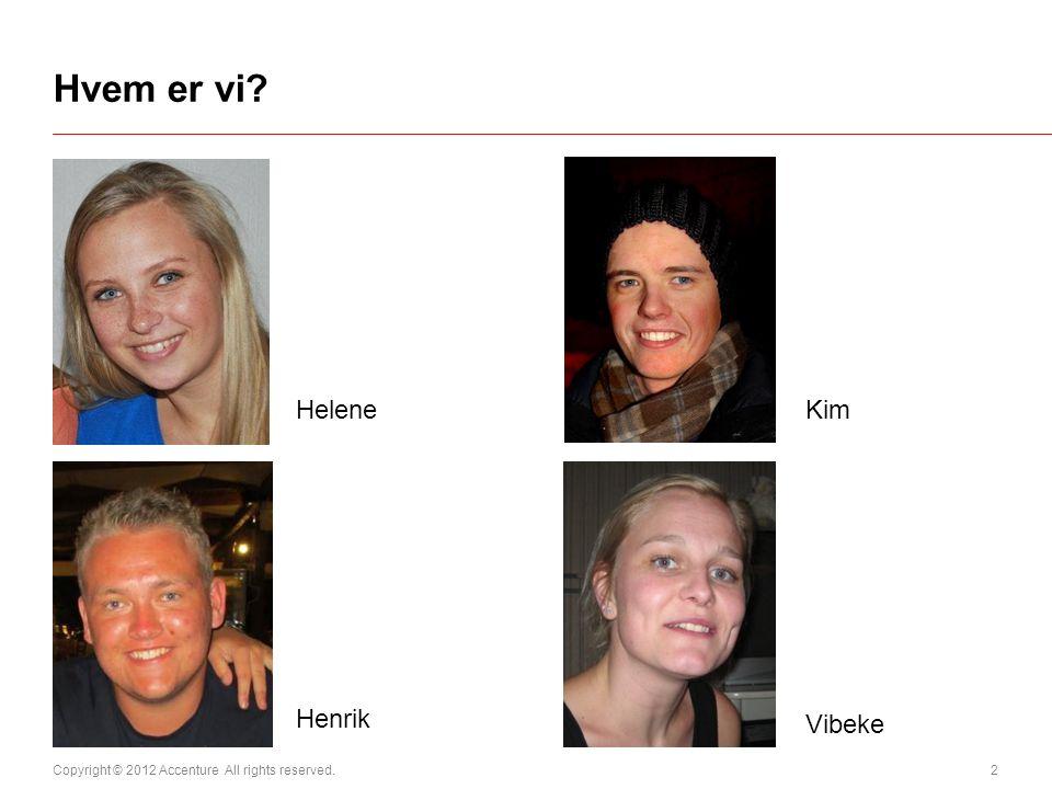 Hvem er vi Helene Kim Henrik Vibeke