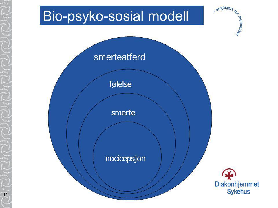 Bio-psyko-sosial modell