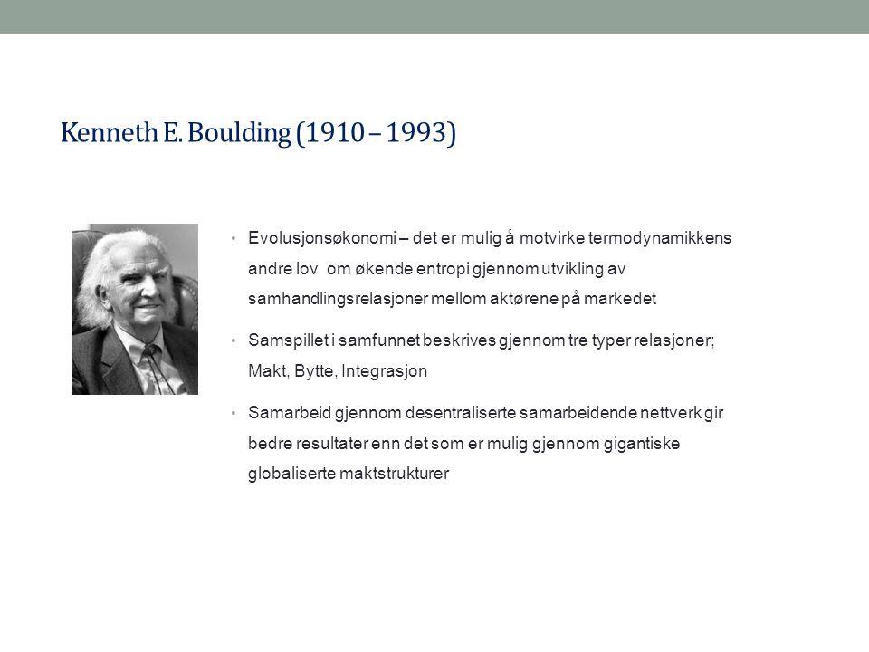 Kenneth E. Boulding (1910 – 1993)