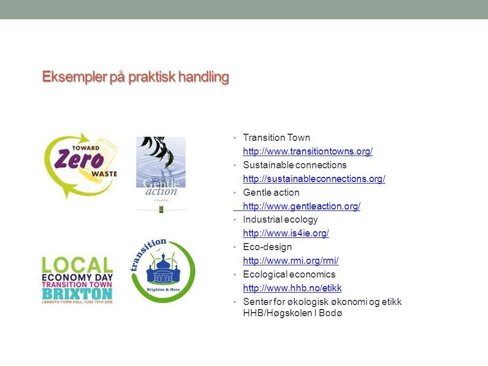 Eksempler på praktisk handling