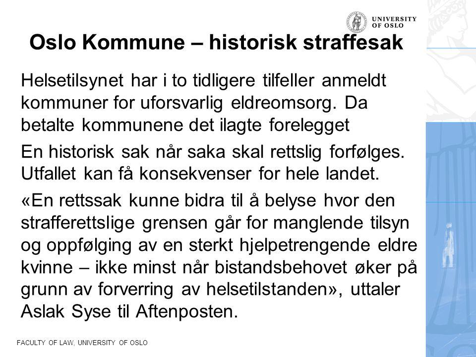 Oslo Kommune – historisk straffesak