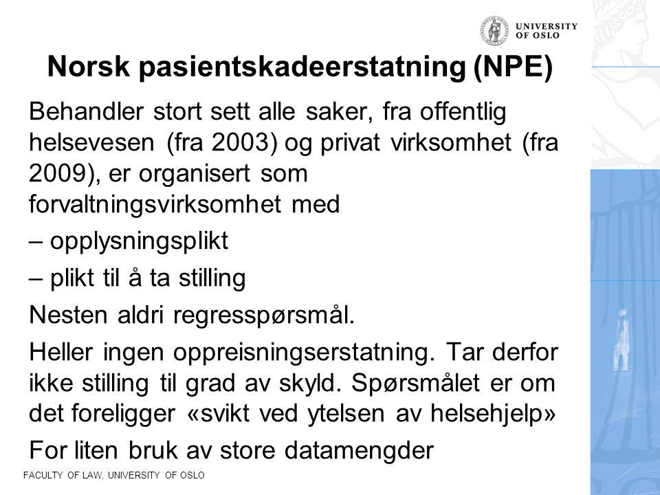 Norsk pasientskadeerstatning (NPE)
