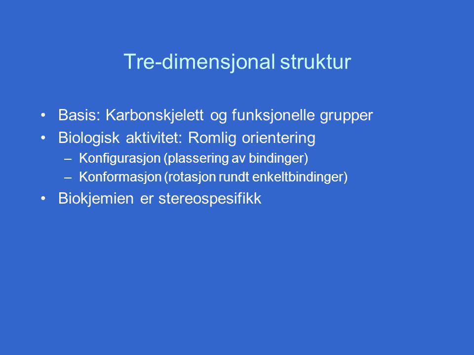 Tre-dimensjonal struktur