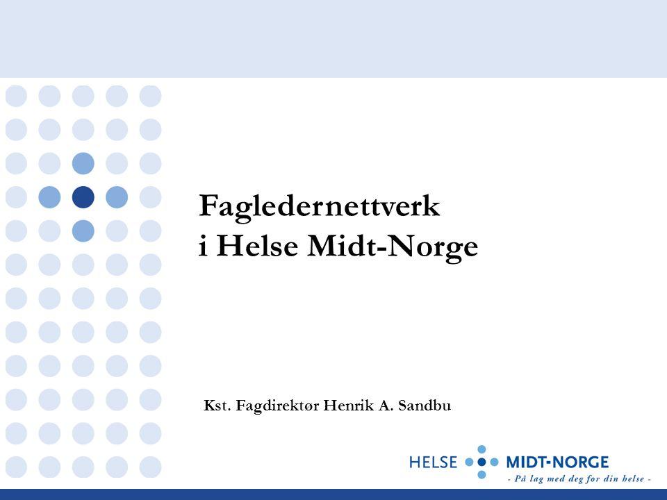 Fagledernettverk i Helse Midt-Norge