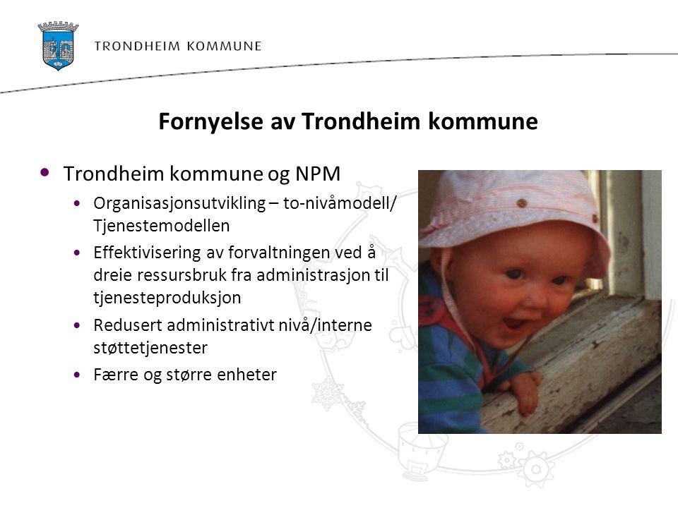 Fornyelse av Trondheim kommune