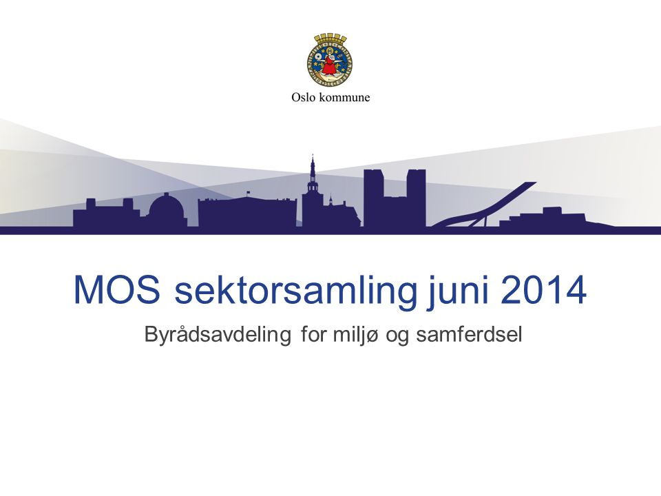 MOS sektorsamling juni 2014
