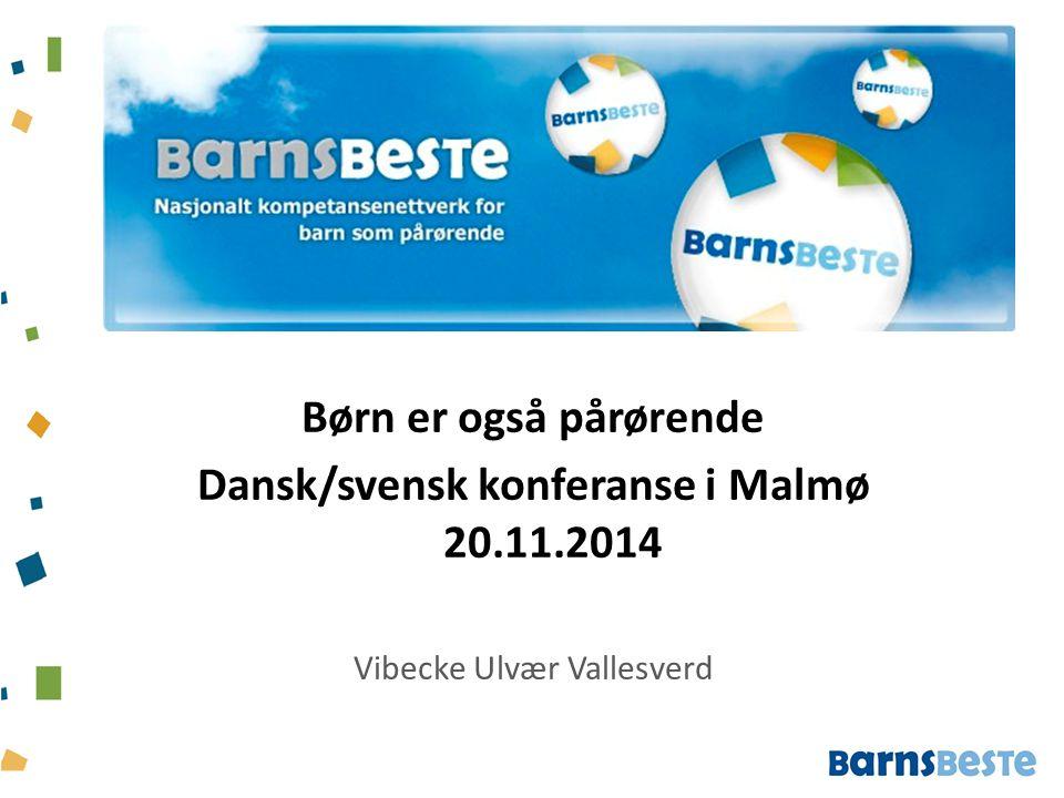 Dansk/svensk konferanse i Malmø 20.11.2014