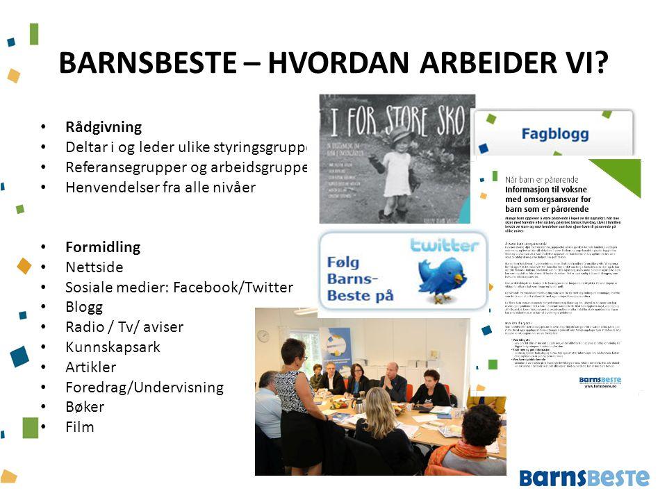 BARNSBESTE – HVORDAN ARBEIDER VI