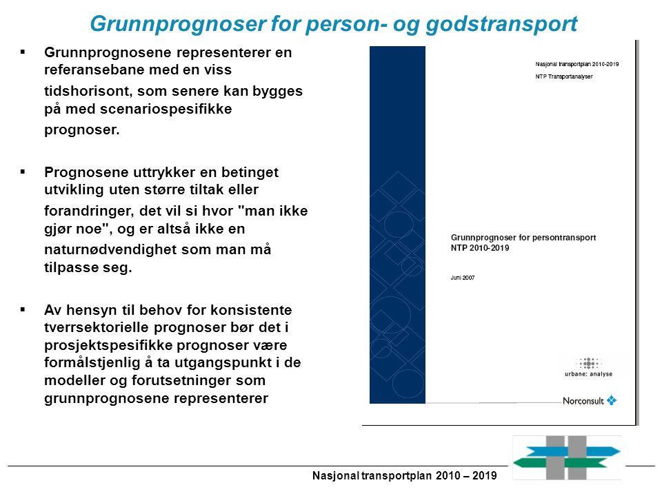 Grunnprognoser for person- og godstransport