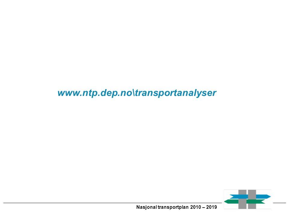Nasjonal transportplan 2010 – 2019